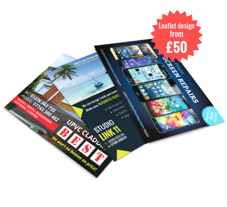 Design & Print, Flyers, Brochures, Menus, Business Cards, Leaflets