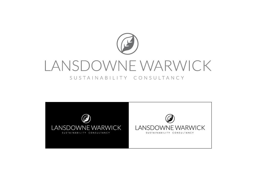 Lansdowne Warwick logo design by Studio Link 11